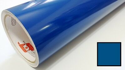 "Gloss Blue Vinyl 48""x30' Roll Sign Making Supplies Decal Craft Decoration"