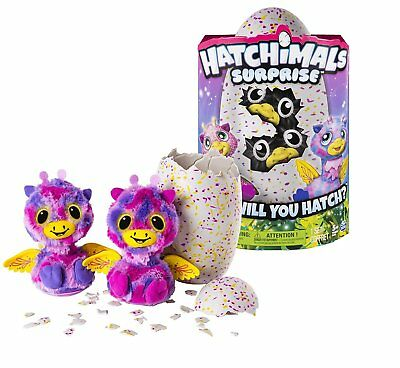 Hatchimals Surprise  Interactive Toy Twins Pink/Yellow Peacat