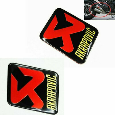 Motorcycle Scorpio Akrapovic Exhaust Pipe Sticker Aluminium Heat-resistant Decal