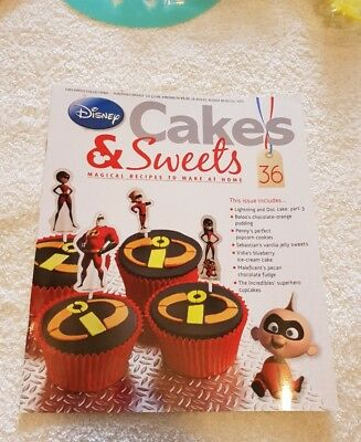 Disney Cakes and Sweets Magazine - Issue 36 - NO ITEM