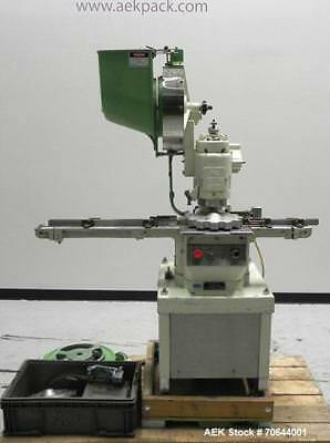 Used- West Company Model PW500F Vial Capper. Capable of speeds up to 120 bottles