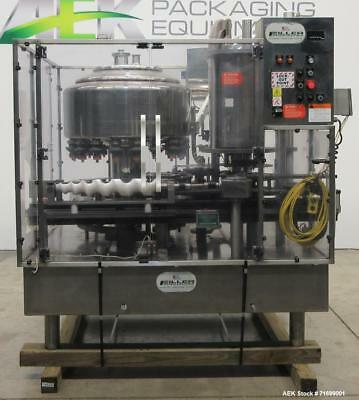 Used- Filler Specialties Model AWFS-18-6-R Monoblock Rotary Filler and Capper. 1