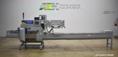 Used- Ilapak Model Carrera 1000/40 Automatic Horizontal Flow Wrapper. Now tooled