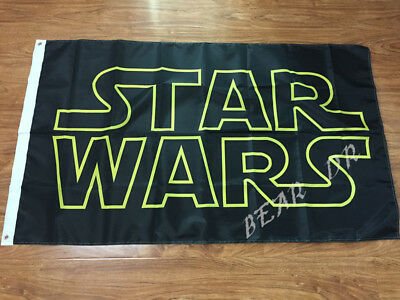 STAR WARS FLAG 3x5FT 90x150CM TWO GROMMETS