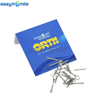 10Pcs Orthodontic Closed Coil Spring EASYINSMILE Dental NITI Close Coil Spring