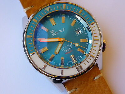 Orologio SQUALE Sub Professional MATIC 60 atmos light blue shiny