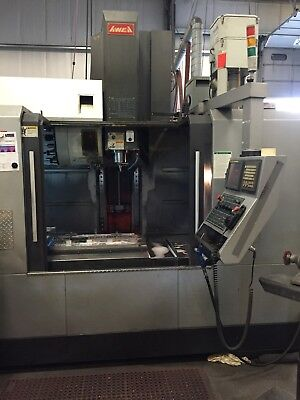 Used Toyoda AF-1000 CNC Vertical Machining Center Mill Fanuc 18i 12K rpm TSC '07