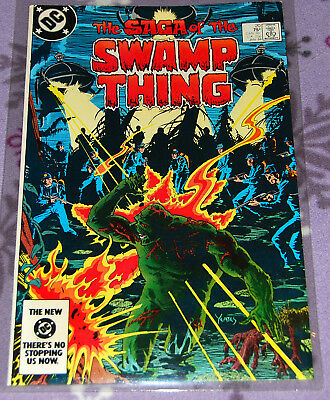 Swamp Thing 20 Jan 1984 DC Comics 1st Alan Moore