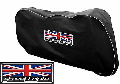 Motorbike Motorcycle Indoor Breathable Dust cover Fits Triumph 675 Street Triple