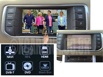 Range Rover Evoque Touch Screen Multimedia Video Interface with Optional GPS