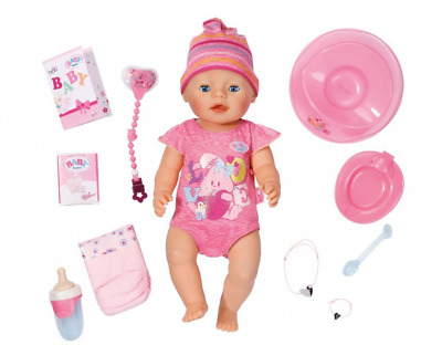 Zapf Creation  Baby Born Interactive Girl Doll With Accessories Girls Christmas
