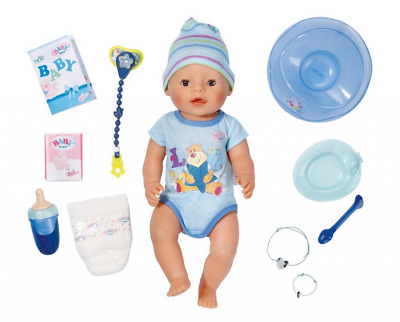 Zapf Creation Baby Born Interactive Boy Doll Accessories Girls Christmas  Toy