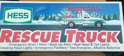 1994 Collectible Hess Rescue Truck mint condition