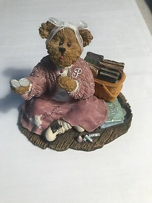 "Boyd's Bears & Friends Longaberger Exclusive Figurine ""Peggy Sue... Remember"""