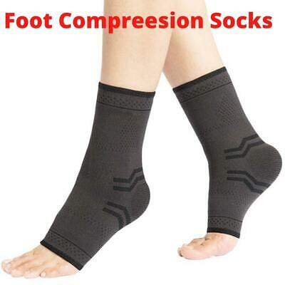 Ankle Support Brace Foot Plantar Fascitiis Achilles Tendon Arthritis Joint Pain