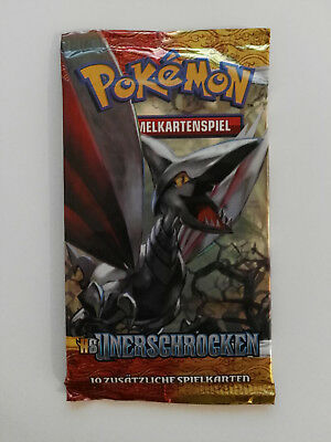 Pokemon Booster Heart Gold Soul Silver Unerschrocken Deutsch