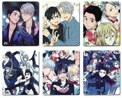Yuri on Ice ... Mousepad Mauspad Pad manga anime cosplay shonen ai yaoi