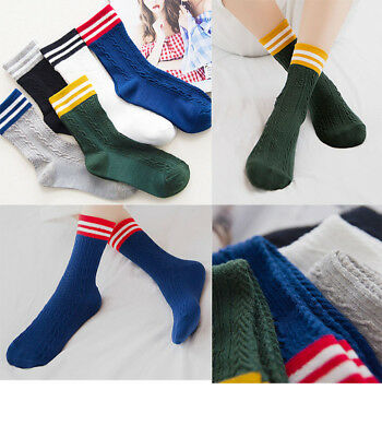 Ladies Thin Comfortable Cable Weave Stripe Ankle Socks Everyday All Seasons Soft