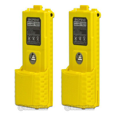 2 x NEW BAOFENG BL-5L Li-Ion 7.4V 3800mAh Original Battery for UV-5R BF-F8 Radio