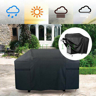 4-6 Burner BBQ Barbecue Grill Charcoal Heater Waterproof Cover Durable Outdoor