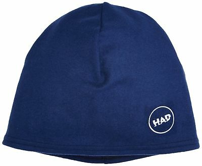 (TG. One Size) HAD Printed Fleece Beanie multifunzionale cappello Navy (z7M)