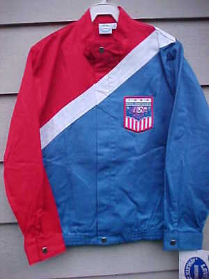 Levi's 1984 Olympic Team Jacket Los Angeles Women's Small NEW NOS Levi Olympics