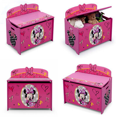 Strange Delta Children Deluxe Toy Box Disney Minnie Mouse 109 41 Pdpeps Interior Chair Design Pdpepsorg