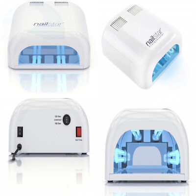 NAILSTAR LED Nail Dryer and Nail Lamp for Gel with 30, 60, 90 S and ...
