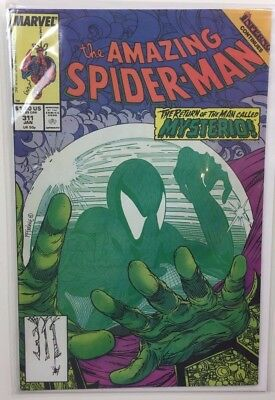 The Amazing Spider-Man Issue 311 Marvel Todd McFarlane 1989 Bag & Board Included