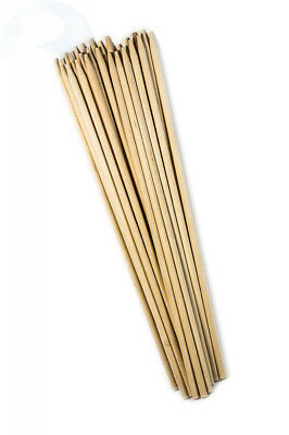 """Perfect Stix BDS30SP-100ct 30"""" Bamboo Marshmallow S'mores Sticks, 6.35 mm (Pack"""