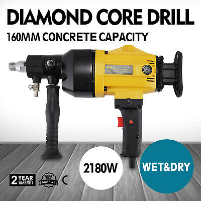 "6"" Diamond Core Drill Concrete Drilling Machine Heavy Duty Engineering 2180w"