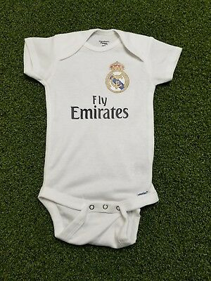 c7360ab41c8 REAL MADRID BABY Jersey 3-9 months. Free Baby s name   number ...