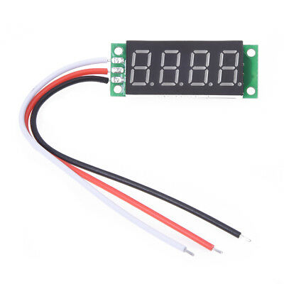 0.36 inches Voltmeter with red LED Digital Panel 0 - 33V 4 Figures X2M7