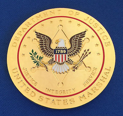 US Marshals Service Western District Arkansas USMS Museum Police Challenge Coin