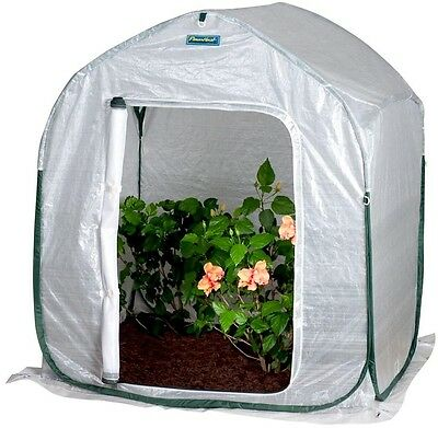 FlowerHouse PlantHouse UV Protected Open Floor 4 ft. x 4 ft. Pop-Up Greenhouse