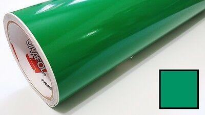 "Gloss Green Vinyl 48""x30' Roll Sign Making Decal Supplies Craft Decoration"