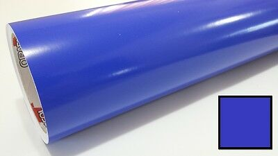 "Gloss Brilliant Blue Vinyl 48""x30' Roll Sign Making Supplies Decal Craft Decor"