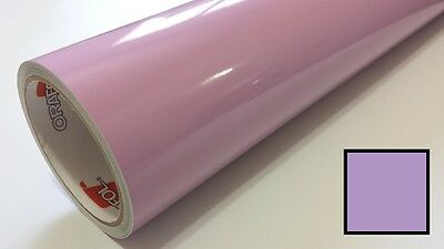 "Gloss Lilac Purple Vinyl 30""x30' Roll Sign Making Supplies Decal Decoration"