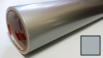 "Gloss Silver Grey Vinyl 30""x30' Roll Sign Making Supplies Decal Craft Decoration"