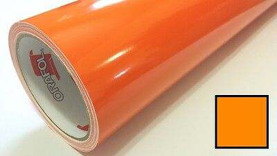 "Gloss Pastel Orange Vinyl 48""x30' Roll Sign Making Decal Supplies Decoration"