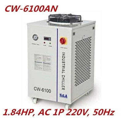 S&A 1.84HP AC220V CW-6100AN Industrial Water Chiller for 6KW CNC Spindle Cooling