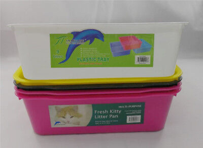 Multi functional  Kitty Litter Tray Portable Cat  Pan & Pet Food Scoop