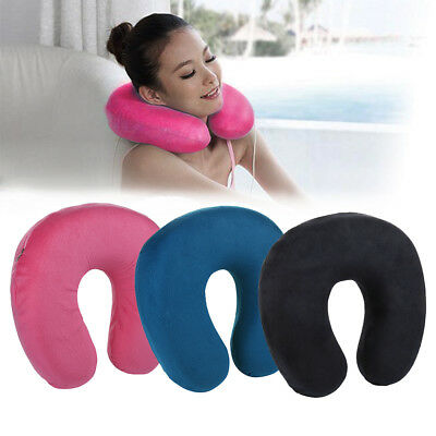 Kids Childs Childrens Soft Microbead Neck Cushion Travel Pillow Head Support