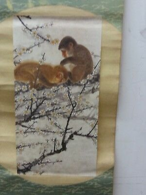 China  Painting & Scrolls of double monkeys双猴图