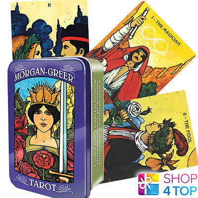 Morgan Greer Tarot Tin Deck Cards Esoteric Telling Us Games Systems New