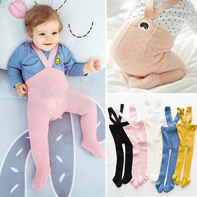 Baby Toddlers Cotton Belt Pantyhose Pants Autumn Winter Stockings Socks Tights