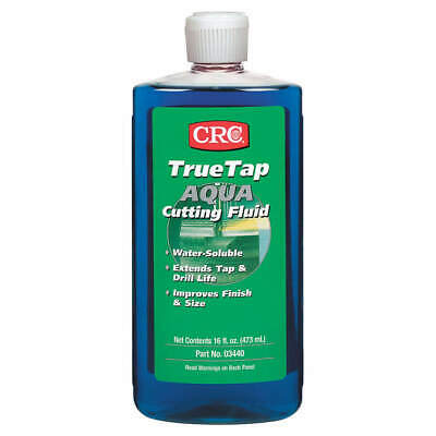 CRC Cutting Oil,16 oz,Bottle, 03440, Clear Blue