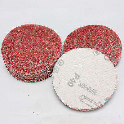 3'' 75mm Sanding Disc Hook And Loop 60 - 2000 Mixed Grit Sandpaper Sander Pads