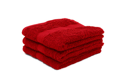 12 X Luxury Red Hairdressing Towels / Beauty Towels / Salon Towels 50 X 85Cm