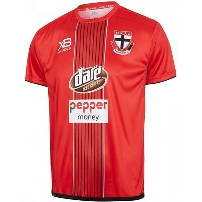 St Kilda Saints 2018 AFL Red Training Shirt Sizes S-7XL BNWT